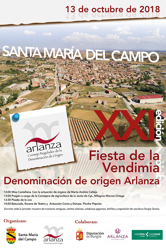 cartel Arlanza 2018