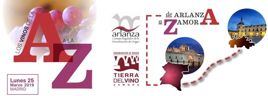 Presentación de vinos Arlanza y Tierra del Vino de Zamora. 25 de Marzo en Madrid